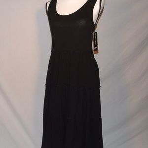 Peter Nygard Black Below The Knee Dress Size Small